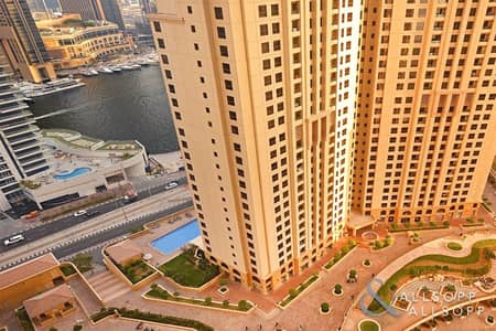 Marina views | Two Bedrooms | Unfurnished