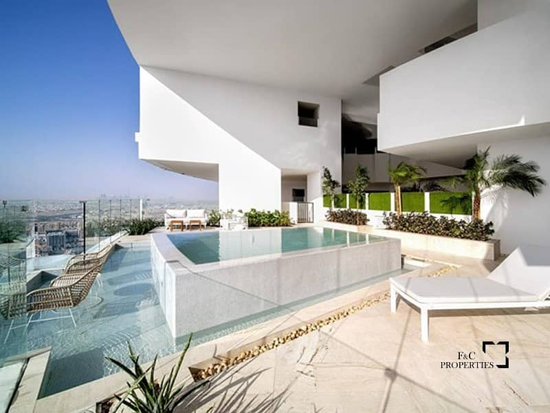 Panoramic View | Private Pool | Penthause JVC