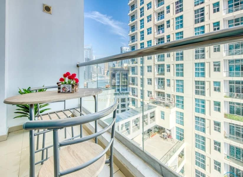 2 High End Fully Furnished 1BR Marina View