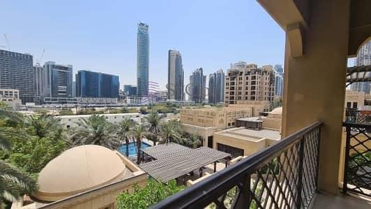 شقة 3 غرف نوم للايجار في المدينة القديمة، دبي - 3BEDROOM/MAID/STUDY/ POOL VIEW/ OLD TOWN