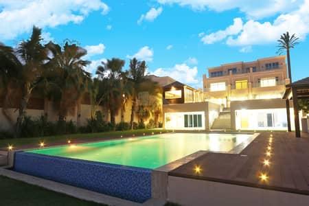 فیلا 9 غرف نوم للبيع في قرية مارينا، أبوظبي - luxury and modified villa with basement and marsa
