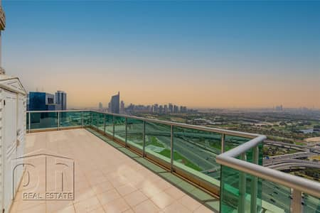 بنتهاوس 5 غرف نوم للبيع في دبي مارينا، دبي - Penthouse | 4 Bed |  | 3 Terraces | Marina and Skyline Views