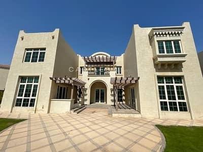 فیلا 5 غرف نوم للايجار في جزر جميرا، دبي - 5 bed+maids   Master View -in Jumeirah Islands