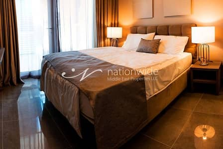 Studio for Rent in Masdar City, Abu Dhabi - Live In This Well Furnished Unit With Parking