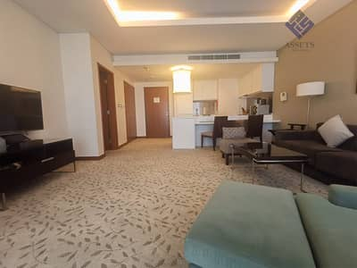 فلیٹ 1 غرفة نوم للايجار في وسط مدينة دبي، دبي - 1 B/R | Fully Furnished | Balcony w/ City View