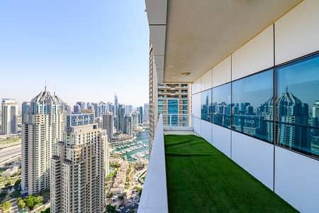 2 Bedroom Apartment for Rent in Dubai Marina, Dubai - Golf Course View Chiller Free