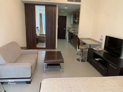 Studio for Rent in Jumeirah Lake Towers (JLT), Dubai - Affordable Studio in Cluster C - Near Metro
