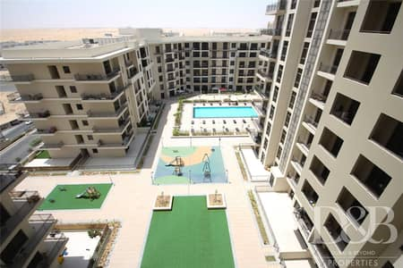 2 Bedroom Apartment for Rent in Town Square, Dubai - Brand New | Swimming Pool View | Large 2 Bed