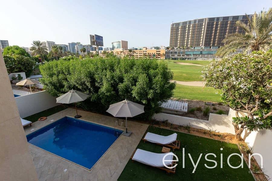 26 Furnished 4 Bed Villa | Golf Course Views