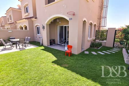 3 Bedroom Townhouse for Sale in Serena, Dubai - Excellent Location | Single Row | End Unit