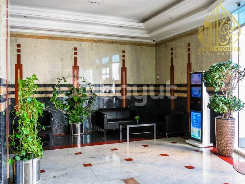 alkhan/beach tower 2 / a spacious balcony with a wonderful view