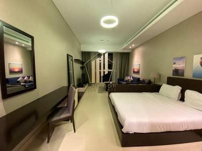 استوديو  للايجار في منطقة الكورنيش، أبوظبي - Brand New Spacious furnished Studio Appt Corniche.