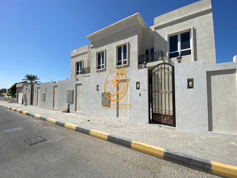 BRAND NEW SPACIOUS 5 BEDROOM  VILLA  WITH COVERED PARKING, MAIDS ROOM