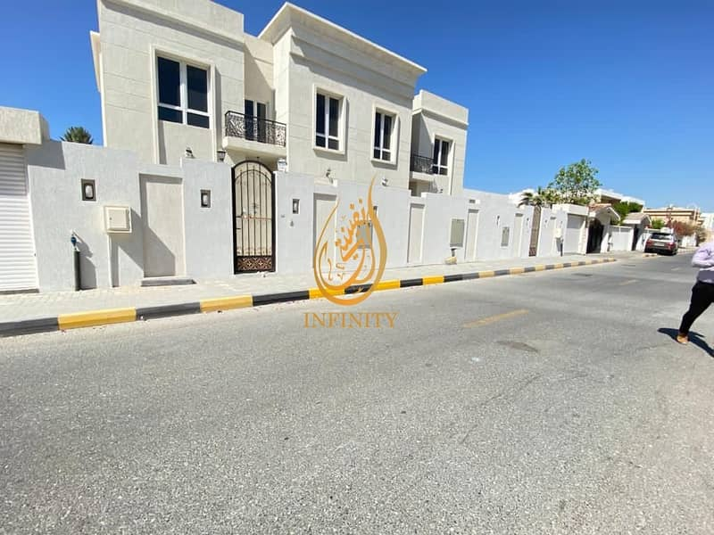 2 BRAND NEW SPACIOUS 5 BEDROOM  VILLA  WITH COVERED PARKING, MAIDS ROOM