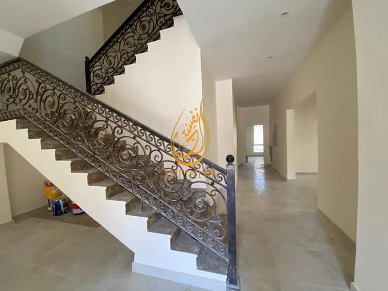 28 BRAND NEW SPACIOUS 5 BEDROOM  VILLA  WITH COVERED PARKING, MAIDS ROOM