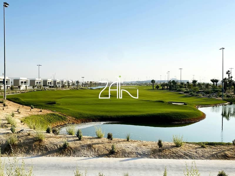 Brand New Huge 5 BR Villa Golf View on Large Plot