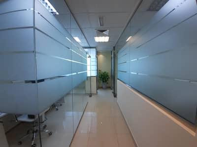 مکتب  للايجار في الخليج التجاري، دبي - High Floor [ Glass Partition ] Call Now
