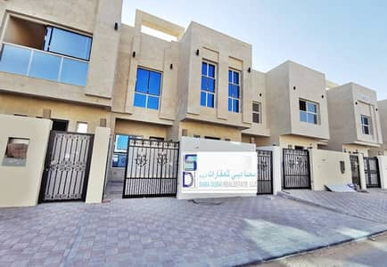5 Bedroom Villa for Rent in Al Yasmeen, Ajman - New villa for rent first tenant direct on the road with AC