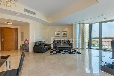 فلیٹ 2 غرفة نوم للايجار في دبي مارينا، دبي - Spacious Size En Suit 2BR+Study Prime Location