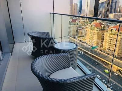 1 Bedroom Flat for Rent in Downtown Dubai, Dubai - Serviced Apartment |Fully | Furnished | DIFC View