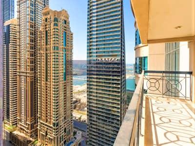 3 Bedroom Flat for Sale in Dubai Marina, Dubai - Vacant | Partial Sea & Marina View | Upgraded Flooring |