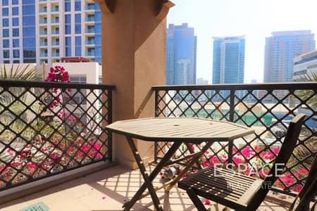 فلیٹ 1 غرفة نوم للبيع في المدينة القديمة، دبي - Vacant | Large Layout | Study Room
