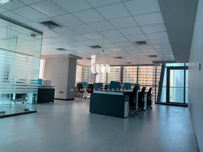 Fully fitted and furnished office in Indigo Icon - Jumeirah Lake Towers