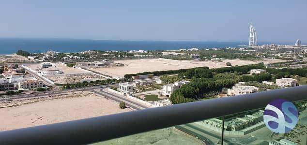 شقة 1 غرفة نوم للايجار في الصفوح، دبي - Panoramic Sea View Fully Furnished Studio   Pool   GYM