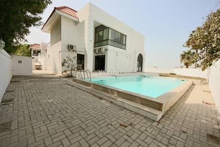 4 Bedroom Villa for Rent in Al Safa, Dubai - Exclusive | Private Pool and Garden