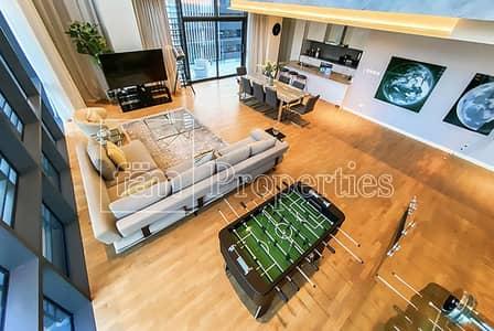 شقة 4 غرف نوم للبيع في جميرا، دبي - Last Duplex of its Kind! Furnished & Equipped!