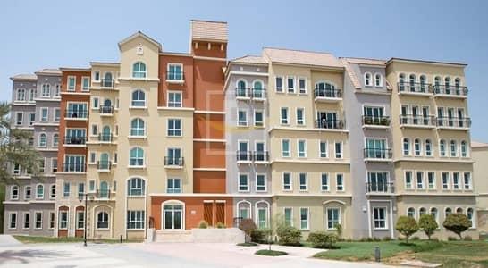 Studio for Rent in Discovery Gardens, Dubai - L Shape large size studio apartment in Discovery Gardens | VIP