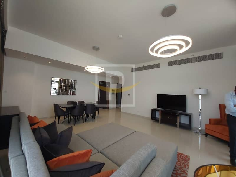Ready 3 Bed Apartment For Sale In Golf Promenade | Full Golf Course View