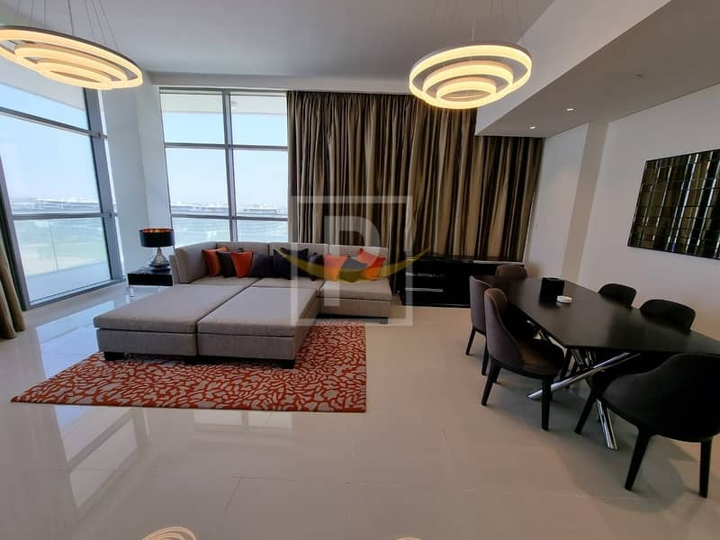 2 Full Golf Course View | Furnished | Ready 3 Bed Apartment For Sale In Golf Promenade