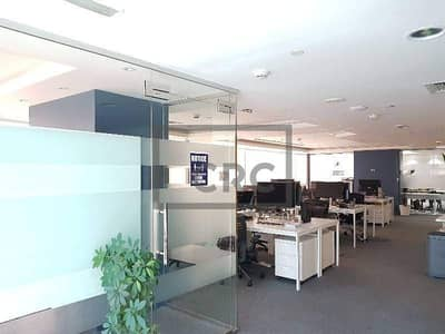 Office for Sale in Jumeirah Lake Towers (JLT), Dubai - Fitted|6 parking Spaces|Partitioned Office