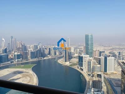 فلیٹ 4 غرف نوم للايجار في الخليج التجاري، دبي - SUPER OFFER HIGH FLOOR 4BR+MAID IN BUSINESS BAY