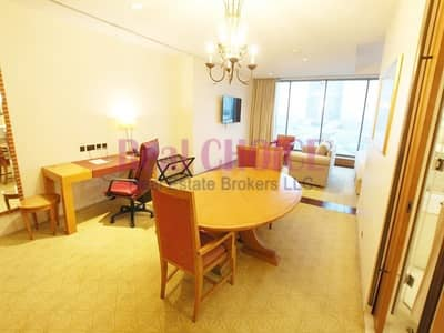 Hotel Apartment for Rent in Sheikh Zayed Road, Dubai - Prime Location | Spacious Peaceful Home | All Included