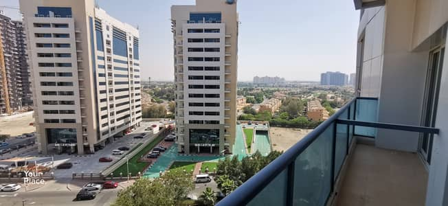 1 Bedroom Apartment for Rent in Dubai Sports City, Dubai - Spacious apartment with park and golf view