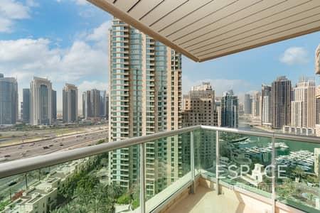 شقة 2 غرفة نوم للبيع في دبي مارينا، دبي - Exclusive | 2Bedroom | Furnished | Vacant