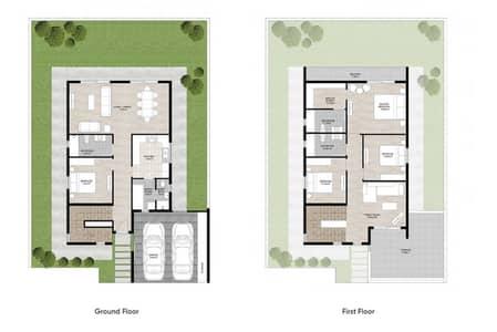 4 Bedroom Sama Majlis villa in Nasma project
