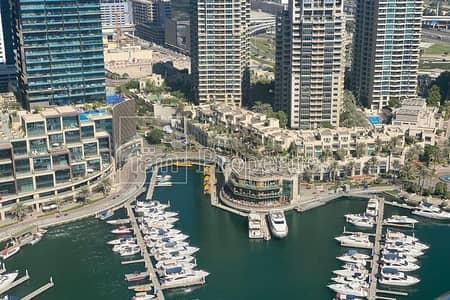 3 Bedroom Apartment for Rent in Dubai Marina, Dubai - Spectacular Marina/Sea views | Furnished | Balcony