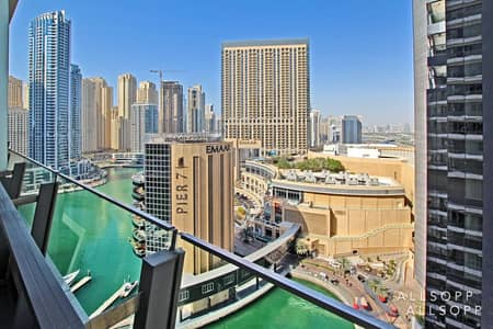 شقة 2 غرفة نوم للبيع في دبي مارينا، دبي - Upgraded 2 Bed   Marina View   Vacant Soon