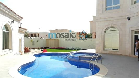 5Bed Villa With Private Pool in Al Barsha South 1