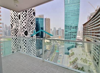 فلیٹ 2 غرفة نوم للبيع في الخليج التجاري، دبي - Huge Terrace | Higher Floor | Canal view