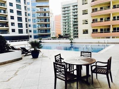 شقة 2 غرفة نوم للايجار في بر دبي، دبي - 2 BHK مفروشة بالكامل مقابل المستشفى الأمريكي مع مبرد مجاني