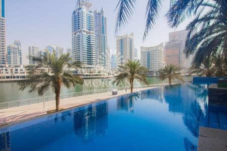 شقة 1 غرفة نوم للبيع في دبي مارينا، دبي - Marina View Vacant Big Layout 1BR Blakely