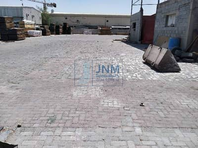 Plot for Rent in Al Quoz, Dubai - 20000 Sq-ft commercial land for Rent  main Road facing