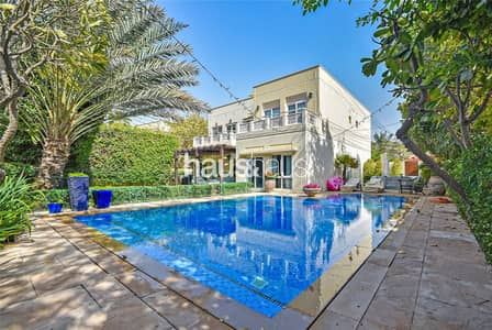 5 Bedroom Villa for Sale in The Meadows, Dubai - Partial Lake View | Vacant on Transfer | Type 7