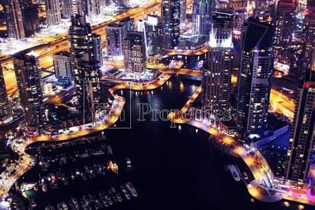 2 Bedroom Penthouse for Sale in Dubai Marina, Dubai - Exclusive penthhouse   80th Floor   Fendi CASA