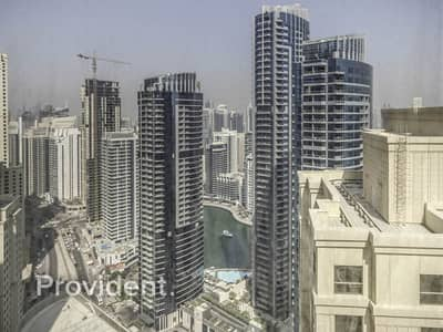 2 Bedroom Flat for Rent in Jumeirah Beach Residence (JBR), Dubai - Large 2 BR | Marina View | Wide Balcony