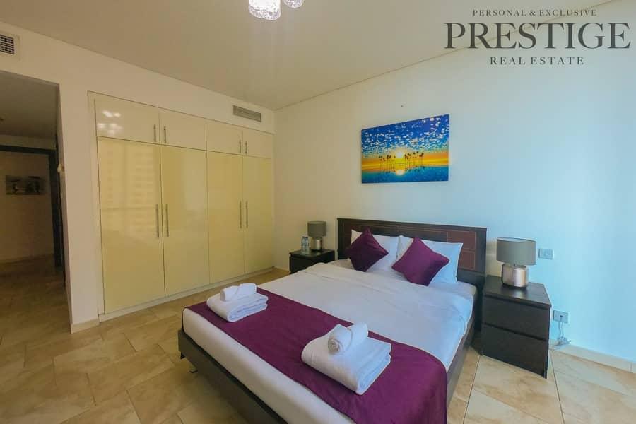 2 2 Bed I Furnished I Dubai Eye View I ALL BILLS INCLUDED